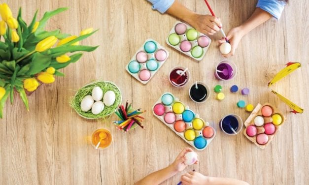 8 tips for dyeing Easter eggs
