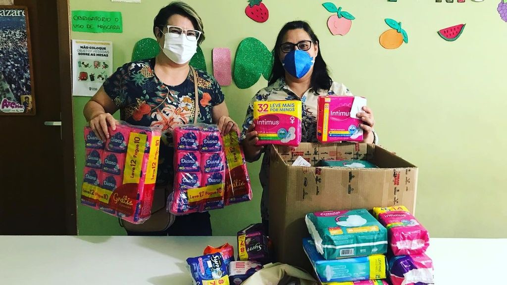 Thousands Of Brazilian Women Can't Afford Feminine Hygiene Products